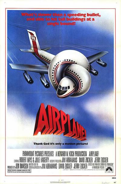Top 10 Funniest Movies Of All Time-Airplane! (1980)