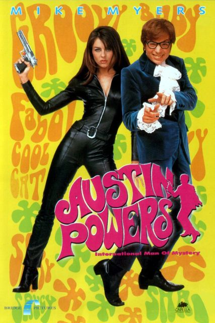 Top 10 Funniest Movies Of All Time-Austin Powers: International Man of Mystery (1997)