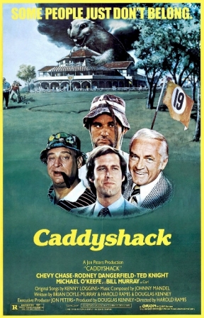 Top 10 Funniest Movies Of All Time-Caddyshack (1980)