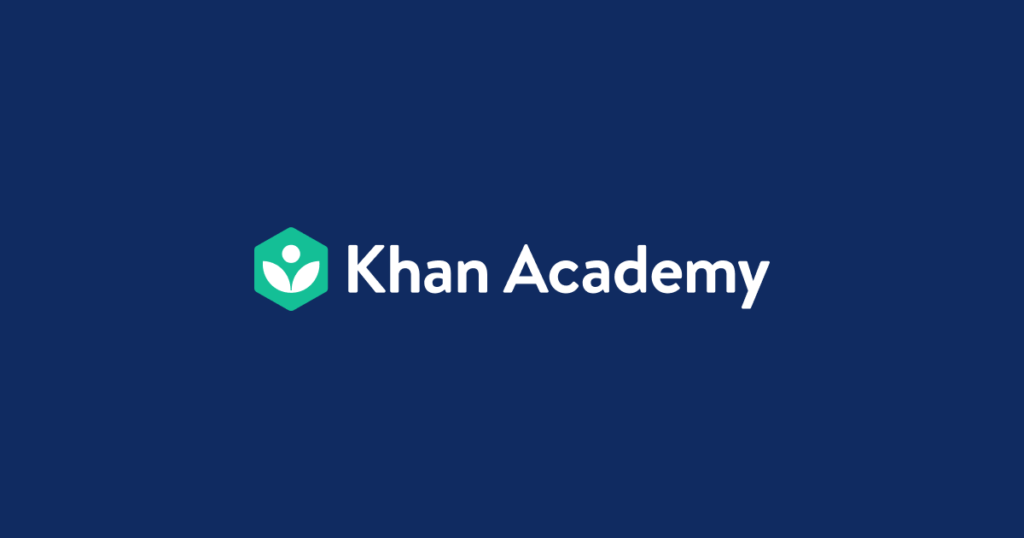 khan academy learning website