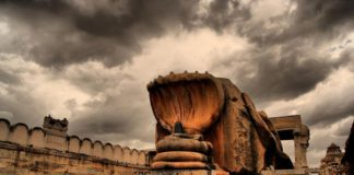 Mysterious temple in India