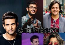 Top 10 Most Popular Youtubers in India